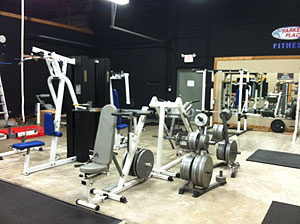 An image of the gym equipment.