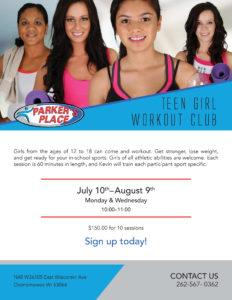 A thumbnail of the Teen Girl Workout Club