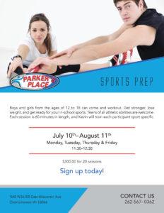 A thumbnail of the Sports Prep Flyer